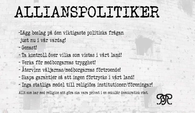 Råd till ALLIANSPOLITIKER efter #DÖ