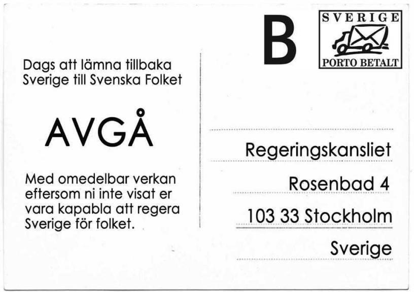 AVGÅ - regeringen 20151024
