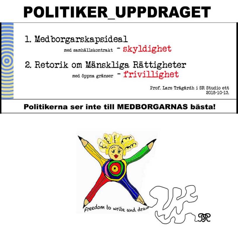 Det politiska uppdraget - Skyldigheten!