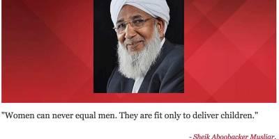 Kvinnosyn - sunni ledare Indien