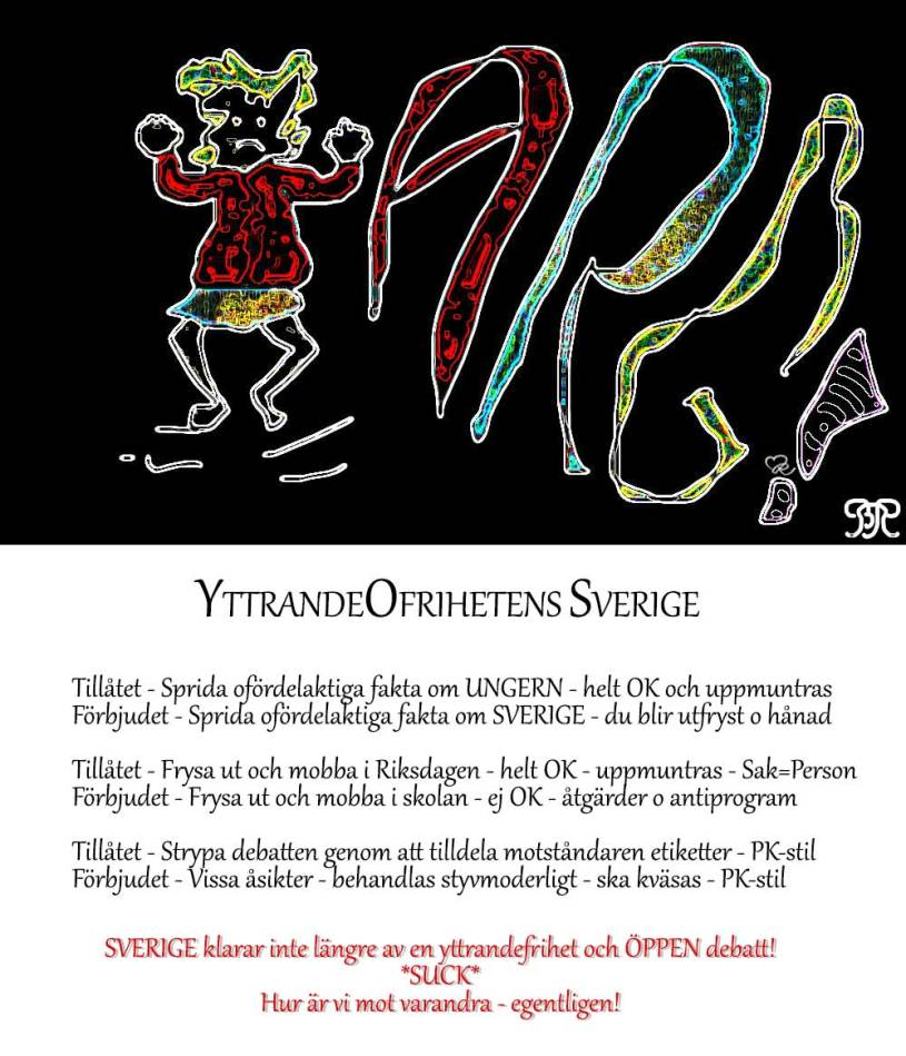 YttrandeOfrihetens Sverige