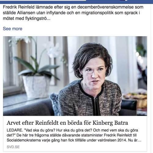 Arvet efter Fredrik Reinfeldt.