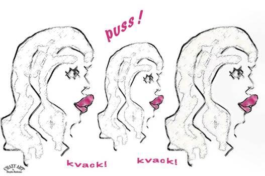 Ankläppar - Puss - Kvack Kvack!
