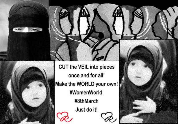 Cut the #VEIL into pieces once and for all!