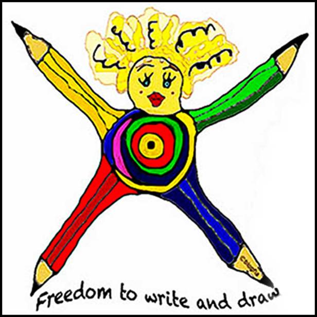 Freedom to Write and Draw by blogfia.