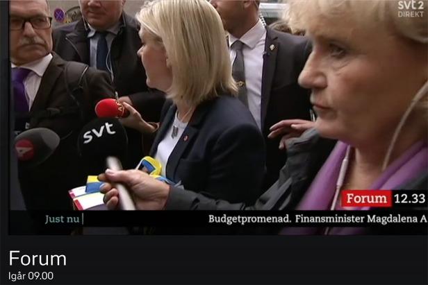 Magdalena Andersson (s) brist på etik i retoriken.