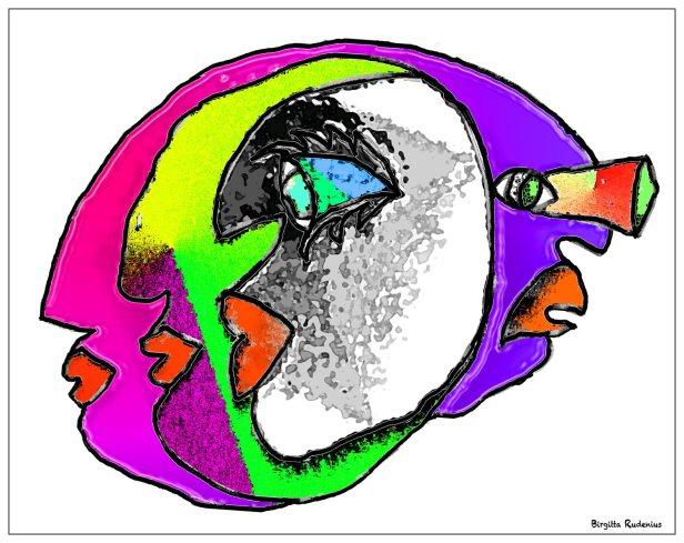 Crazy Art by me - Med sikte mot sans och förnuft.