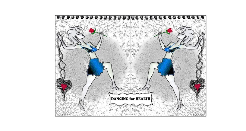Crazy Art by me - Dance for Health.
