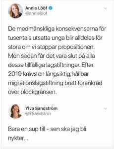 Dagens bästa - #centern - Annie Lööf.