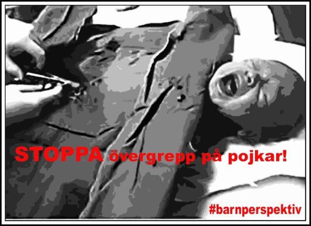 STOPPA övergrepp på pojkar! #barnperspektiv