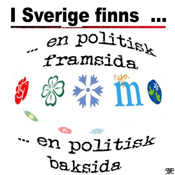 Politikens fram- och baksida.