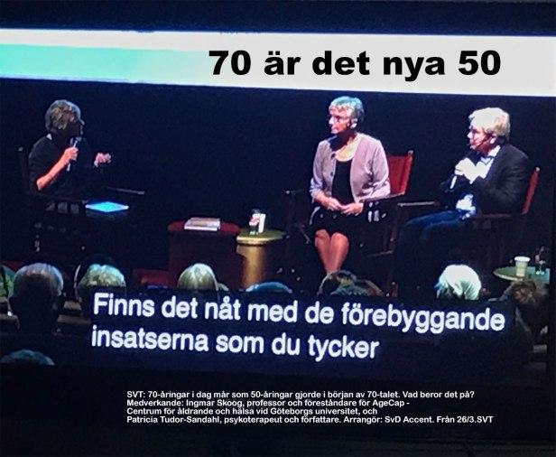 70 är det nya 50.
