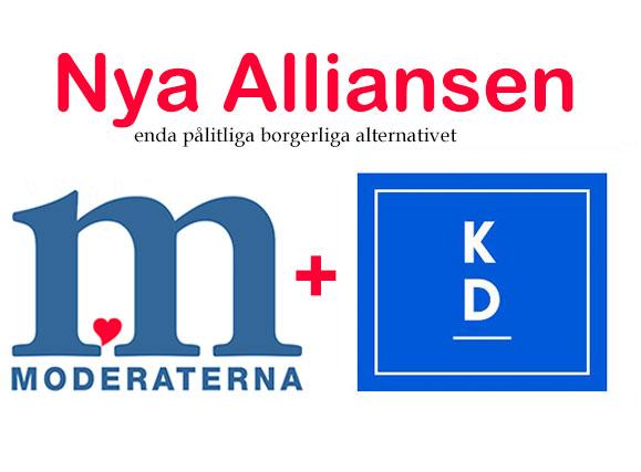 Nya Alliansen - Enda borgerliga alternativet - M/Kd.