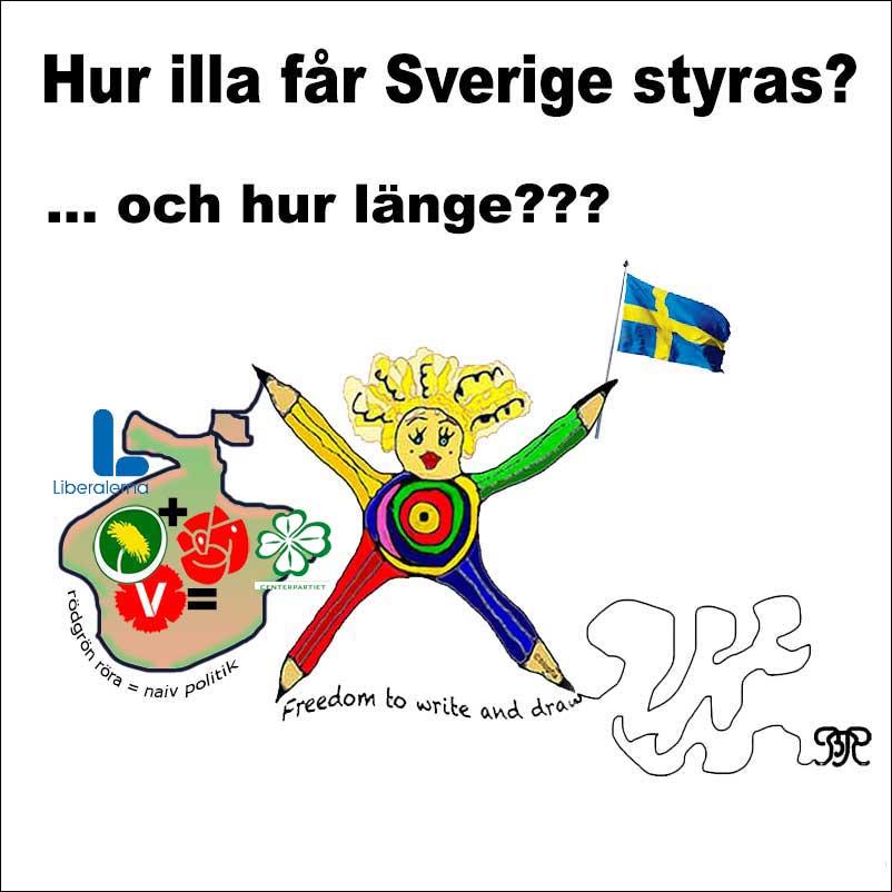 Hur illa får Sverige styras? Och hur länge? Nu i #EUval och #EUdebatt ?