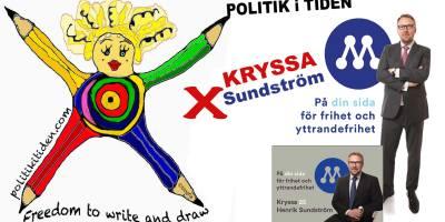 KRYSSA Sundström (m) i #EUval