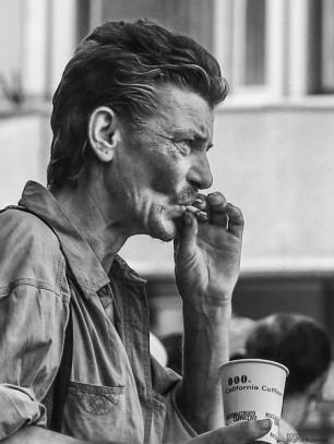Smoker Street Photo © Birgitta Rudenius